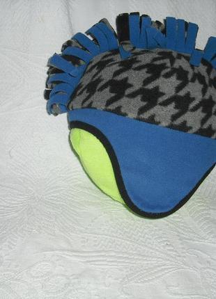Стильная шапка с ирокезом
