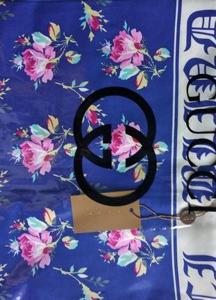 Платок шелковый2 фото