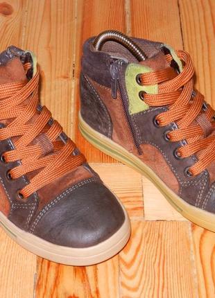 Ботинки кожаные clarks