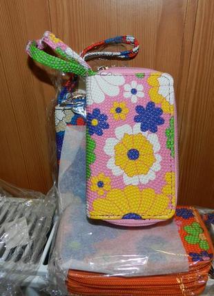 🔝💣мини сумочка ключница 3 в1 разные цвета