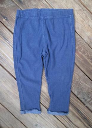 Лосины, леггенсы, джоггеры f&f штаны на 1,5-2 года, мягкая ткань