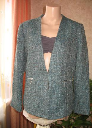 """Шикарный пиджак,легкая куртка  весна-осень бренд """"h&m"""" размер 46/3xl/16"""