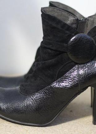 Шикарные ботинки, ботильоны rainbow 38-39