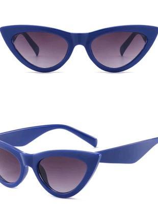 Очки.солнцезащитные очки.cateyes.очки кошачьи глазки.очки лисички.