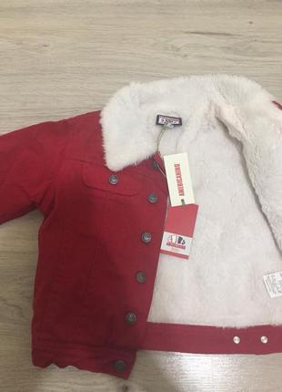 Детская курточка куртка стильная