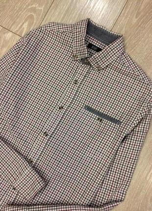 Рубашка в клетку f&f