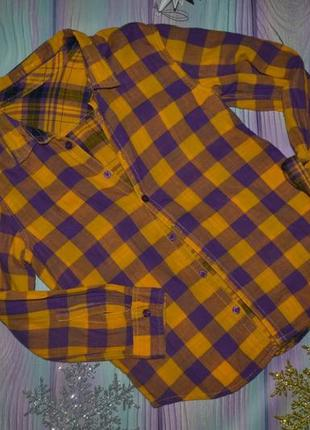 Двусторонняя рубашка лет 7-8лет -115 грн