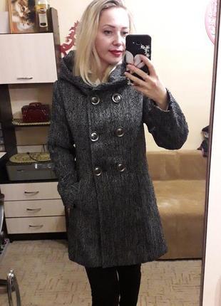 Пальто с букле