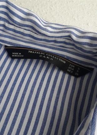 Свободная рубашка zara4 фото