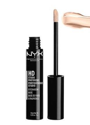 Жидкая база под тени nyx hd eyeshadow base