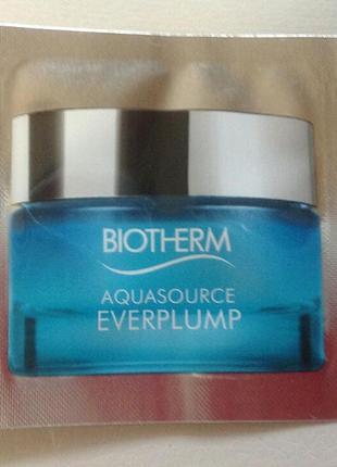Пробники крема biotherm aquasource everplump новинка саше