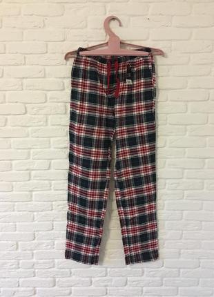Пижамные штаны в клетку шотландскую штани в клітинку