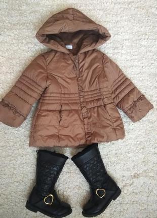 Куртка весна осень + сапоги . цена за все