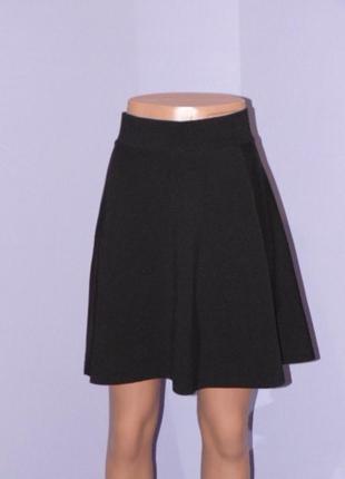 Черная базовая юбка /размер л