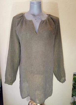 Длинная блуза,туника,44-46 размер verse версаче