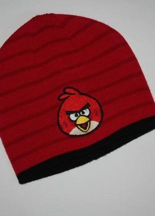 Демисезонная шапка angry birds от f&f