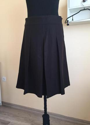 Теплая юбка модного бренда
