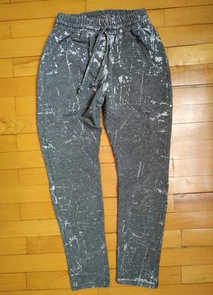 Спортивные брюки на девочку 128