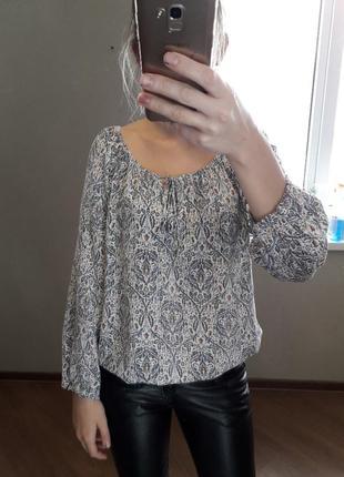 Блуза в стиле кантри