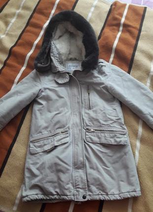 Парка,зимняя куртка pull&bear