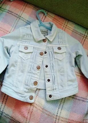 Next джинстовый пиджак