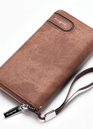 Элегантный клатч baellerry jeans ( baellerry denim ) коричневый