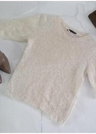 Обалденный свитер с травкой!размер 10!