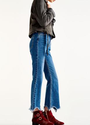 Стильные рваные джинсы