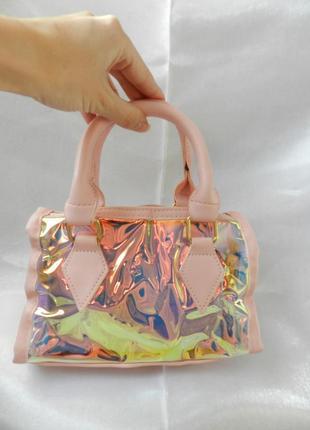 💣женский  прозрачный клатч сумка 2в1  стильный экокожа продвинутый pu