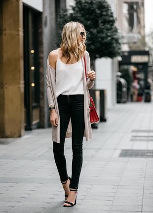 Базовые черные джинсы скинни et vous