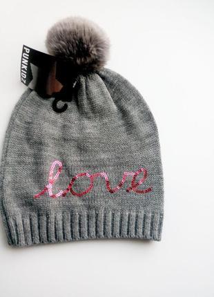 50-52 р модная шапка terranova