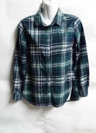 Стильная фланелевая рубашка h&m
