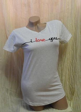Женская футболка арт. 17146