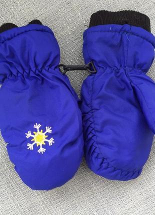 Краги рукавицы на 2-3 года