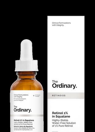 The ordinary  ретинол 1% в сквалене
