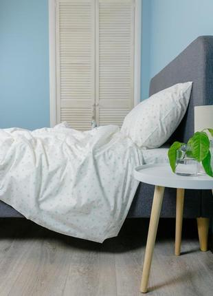"""Детский комплект постельного белья из ранфорса """"мята"""", 100% хлопок, шана-текстиль"""