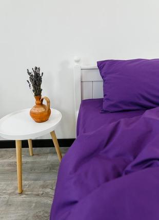 """Евро комплект постельного белья из ранфорса """"фуксия"""", 100% хлопок, шана-текстиль"""