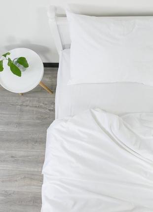 """Евро комплект постельного белья из ранфорса """"сахар"""", 100% хлопок, шана-текстиль"""