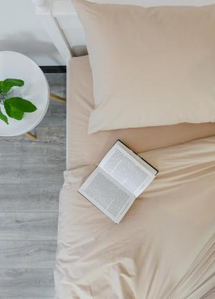 """Семейный комплект постельного белья из ранфорса """"карамель"""", 100% хлопок, шана-текстиль1"""