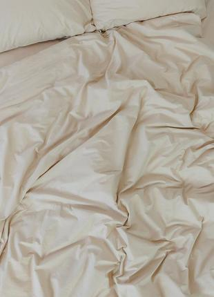 """Семейный комплект постельного белья из ранфорса """"карамель"""", 100% хлопок, шана-текстиль4"""