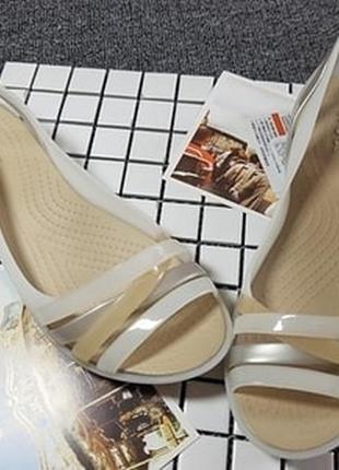 Сандали women s crocs isabella sandal brown
