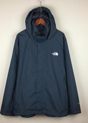 Легкая мембранная куртка the north face dryvent мужская ветровка большой размер