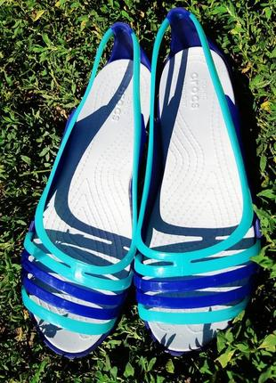 Сандали women s crocs isabella sandal blue
