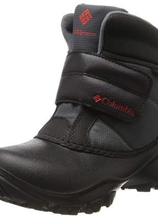 Зимние ботинки columbia р.us6-24,8см. оригинал