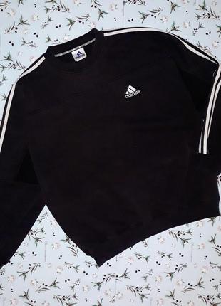 Фирменная теплая толстовка свитер adidas оригинал, размер 54-56, большой размер