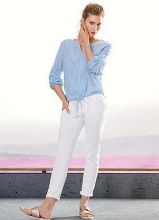 Распродажа! стильные белые джинсы тсм чибо германия, размеры евро 44=50 наш, 46 евро=52наш