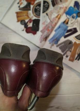 Ecco! кожа! комфортные качественные туфли на низком ходу2