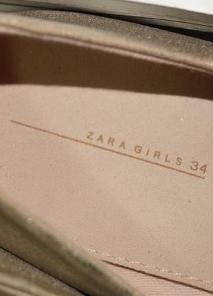 Zara! красивые туфли, балетки на низком ходу5