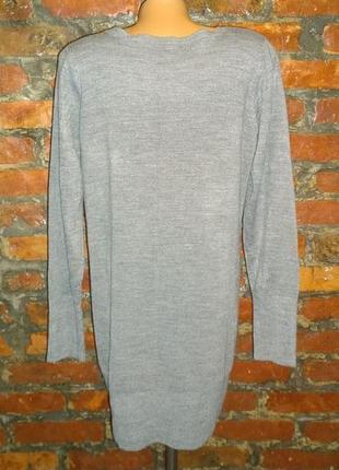 Удлиненный пуловер джемпер туника debenhams2 фото