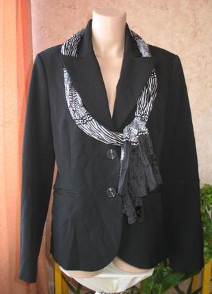 Стильный брендовый жакет шарф в подарок